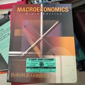 外文原版 macroeconomics 宏观经济学 [美]罗伯特·J. 戈登(Robert J. Gordon)