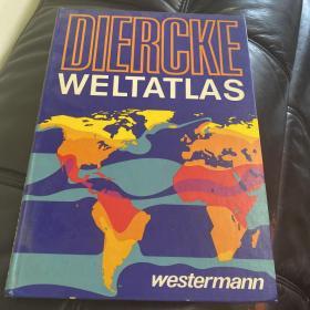 Diercke Weltatlas 德国迪尔克世界文化地理图集(1974年版)概览(全网唯一)