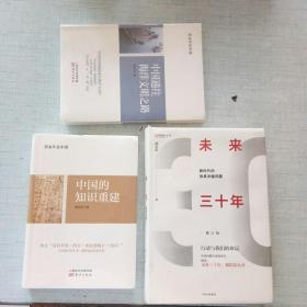 郑永年作品《中国的知识重建》《中国通往海洋文明之路》《未来三十年》 [AB----18]