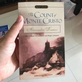 基督山伯爵英文原版小说The Count of Monte Cristo