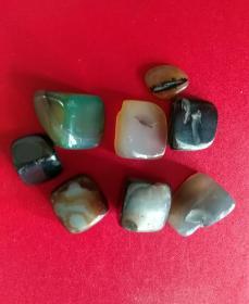 一堆玛瑙石,保真,漂亮好看