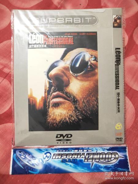 这个杀手不太冷DVD