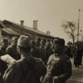 抗战时期 日军在山西太原一带老照片一组24张(似为太原机场、城区、街景、山地、农家一角及高级军官部署任务等影像,尺寸不一,最大尺寸8*11cm,最小尺寸4*5.6cm)