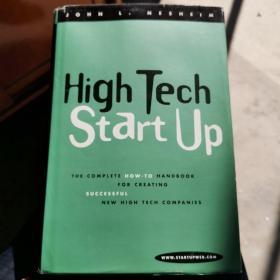 High tech startup high tech start up 精装 英文原版