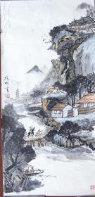 中国美术家协会会员、山东画院高级画师、山东省新闻美术家协会副主席吕培明山水
