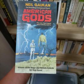 American Gods—Neil Gaiman 《美国众神》—尼尔•盖曼 雨果奖星云奖获奖作品 经典科幻 英文原版 无笔记划线 品相好