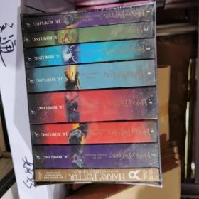 英文版哈利波特全集8本全套