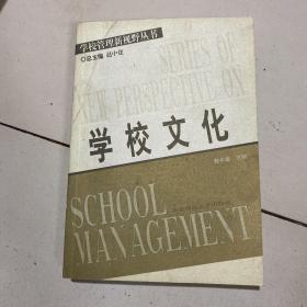 学校文化——普校管量新视野丛书