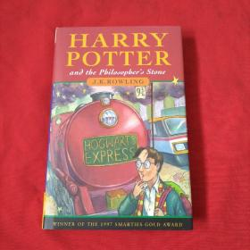 HARRY POTTER  and the  Philosopher's Stone【精装本】内页干净