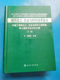 现货:现代化工、冶金与材料技术前沿  下册