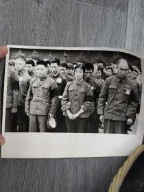 首都百万群众隆重举行追悼大会极其沉痛地悼念伟大领袖(老照片)