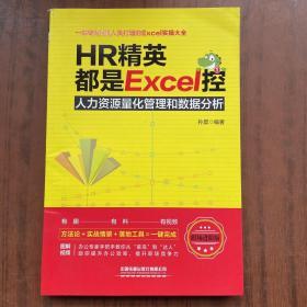HR精英都是Excel控:人力资源量化管理和数据分析(职场进阶版)