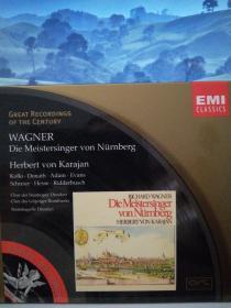 瓦格纳《纽伦堡的名歌手》【原版进口4CD】