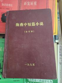 海燕中短篇小说 合订本 1995