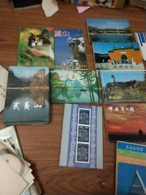 各地风光明信片共16套,每套10元