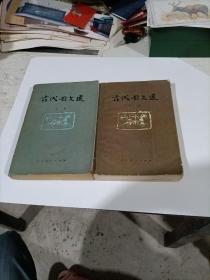 古代散文选 (上,下册)缺中册