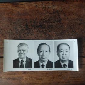 1993年,新当选的八届政协副主席:丁光训(中国基督教协会会长)、董寅初(致公党中央主席)、孙孚凌