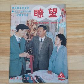 瞭望周刊1985年  6期