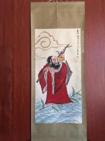 王震手绘人物画