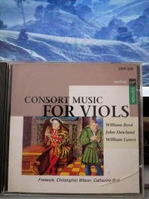 维奥尔琴(古提琴)音乐精选【原版进口CD】