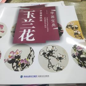 中国画技法:玉兰花