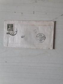 1959年军人邮票实寄封【带信】