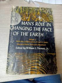 Man's Role In Changing The Face Of The Earth: V. 1 (phoenix Books) (volume 2)(内有划线)