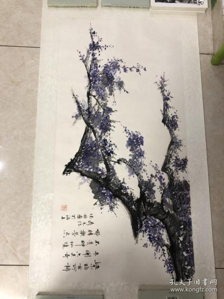 画家 佘德林  山水画一副5