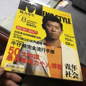 MEN'S STYLE 魅力先生8