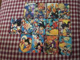 七龙珠卡片13枚合售