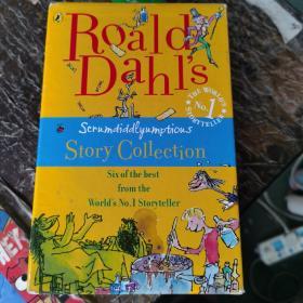 Roald Dahl's Scrumdidlyumptious Story Collection 罗尔德·达尔故事合集 全六册