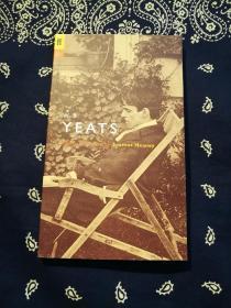 《W. B. Yeats:Poems Selected by Seamus Heaney》 《叶芝诗选》 爱尔兰著名诗人 谢默斯·希尼(1939-2013) 撰写引言,英文原版 。