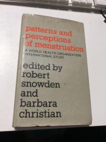 patterns and perceptions of menstruation A WORLD HEALTH ORGANIZATION INTERNATIONAL STUDY