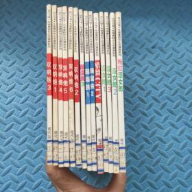 现代风情朱德庸都市生活漫画系列:醋溜族 全4册+双响炮 全6册+涩女郎 全4册(3套14册合售 )