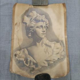 素描石膏像