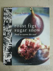 roast figs & sugar snow