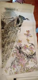 孙元亮国画,来自作者本人赠送,终身保真。