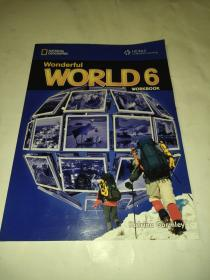 WonderfulWorld6(WORKBOOK) 附光盘 原版库存