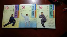 陈式太极拳全三册