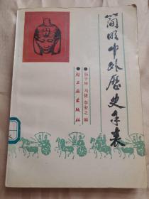 简明中外历史年表