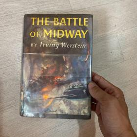 The Battle of Midway 中途岛战争 精装 美国空军财产 驻韩美军藏书  1961年