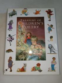 哈钦森儿童诗歌宝库 the hutchinson treasury of childrens poetry  精装