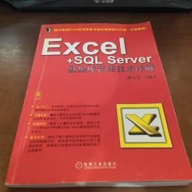 Excel+SQL Server数据库管理技术详解【没有光盘】