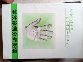 掌纹诊病分析图谱。大32开112页