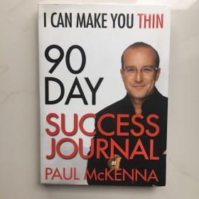 英文原版 I CAN MAKE YOU THIN 90-DAY SUCCESS JOURNAL 我可以让你瘦 90 天的成功日记