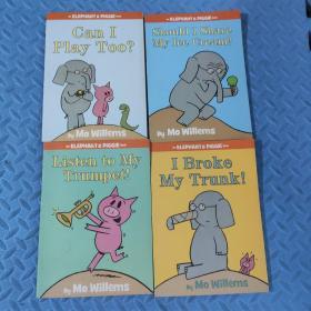 an elephant and piggie book (全4册)合售