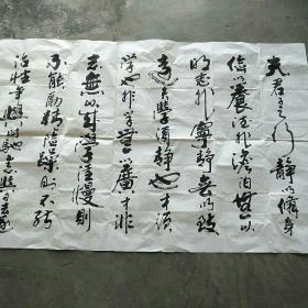 长安   张富锁六尺书法作品