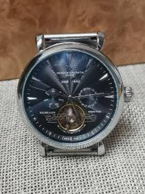 机械表 江诗丹顿腕表 男士多功能系列 精钢表带 外观时尚 走时精准。