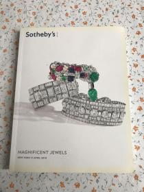 SOTHEBY S MAGNIFICENT JEWELS 【2013年苏富比珠宝拍卖】