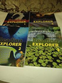 Reading Explorer 1/2/3/4 含  光盘 4本合售